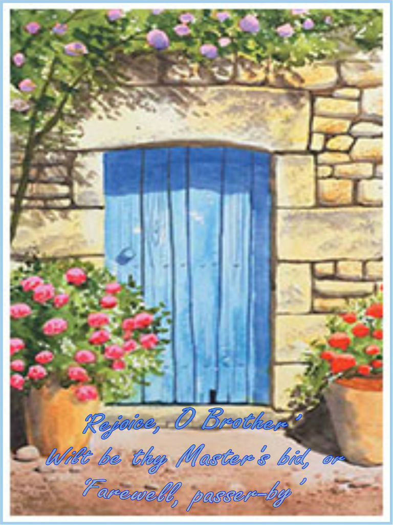 blue door - high consciousness 768x1024